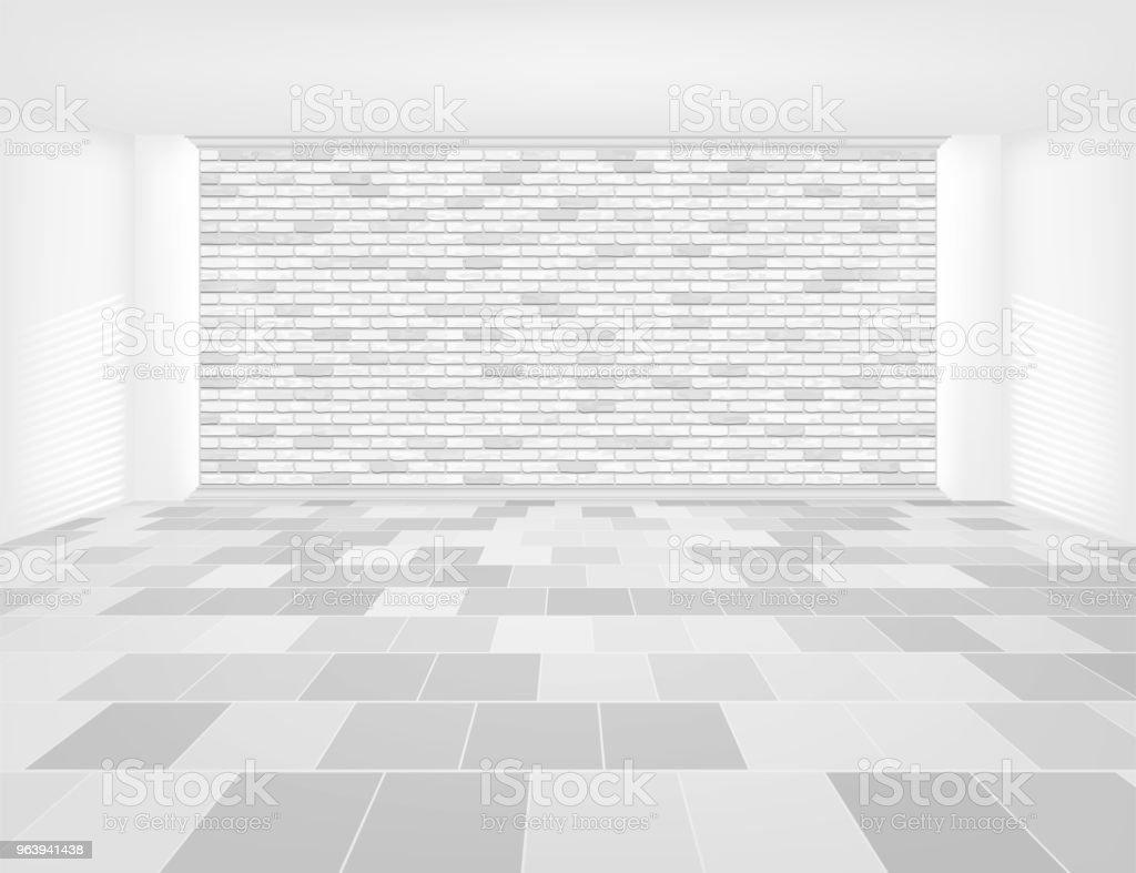 タイルの背景 - からっぽのロイヤリティフリーベクトルアート