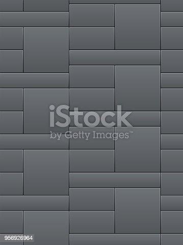 Seamless tiles in vector