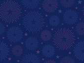istock Tileable Dark Patriotic Seamless Fireworks Celebration Background 1313308279