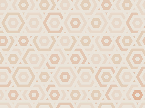 Tileable Geometric Hex background Pattern