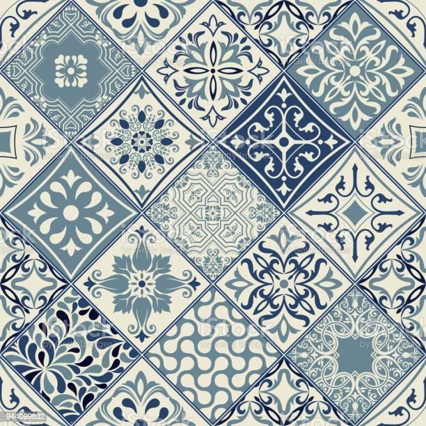 Tiles pattern vector with diagonal blue and white flowers vector id944069832?b=1&k=6&m=944069832&s=612x612&h=k a7uyjufpv37axqrh2eqapkn8wrdir tdvju ne4im=