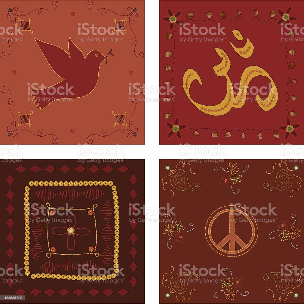 Tiles royalty-free stock vector art
