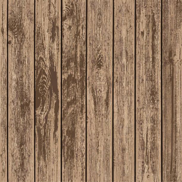 illustrazioni stock, clip art, cartoni animati e icone di tendenza di timber board background. - tavolo legno