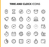 Outline Icon Set.