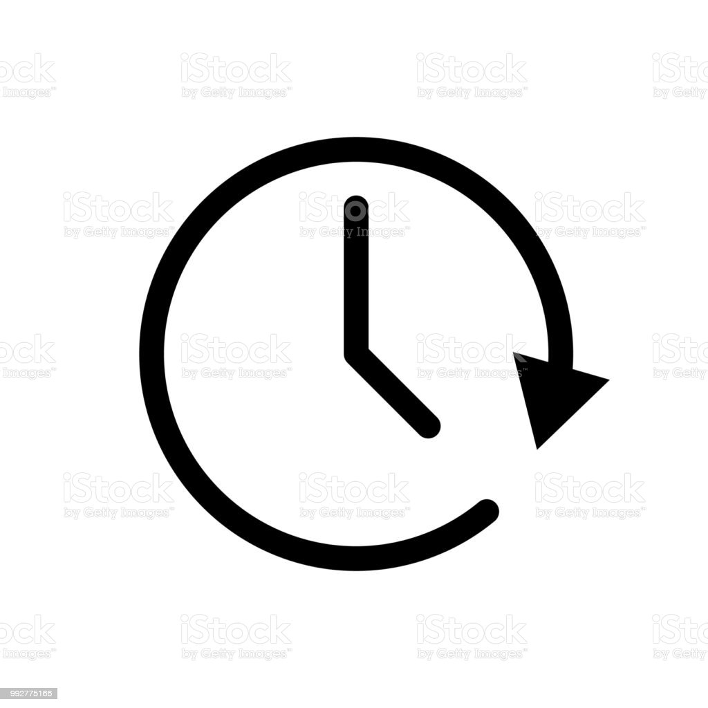 time clock icon stock vector art more images of alarm 992775166