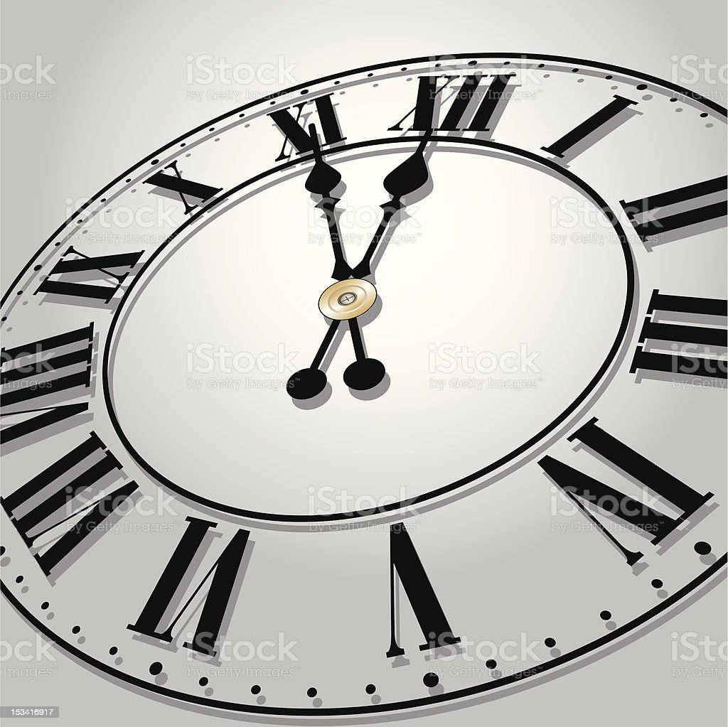 Time concept vector art illustration