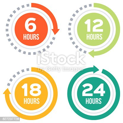 istock Time Elapsed Arrow Concepts 527237728