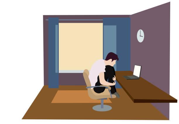 ilustrações, clipart, desenhos animados e ícones de tempo para estudo remoto - salas de aula