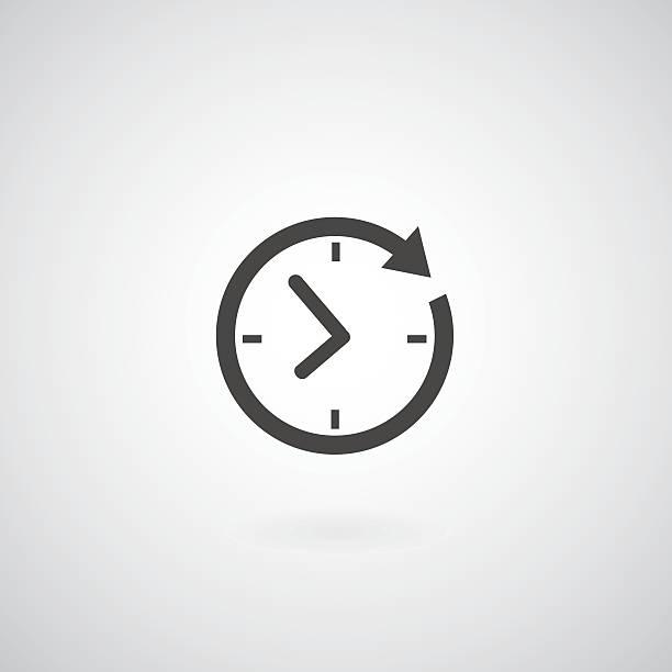 時間のアイコン - 出勤点のイラスト素材/クリップアート素材/マンガ素材/アイコン素材