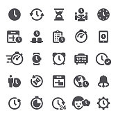 Time, time management, clock, icon, icon set, time zone, watch