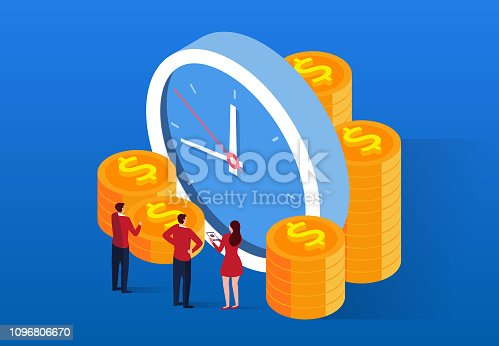614338352istockphoto Time investment and management 1096806670