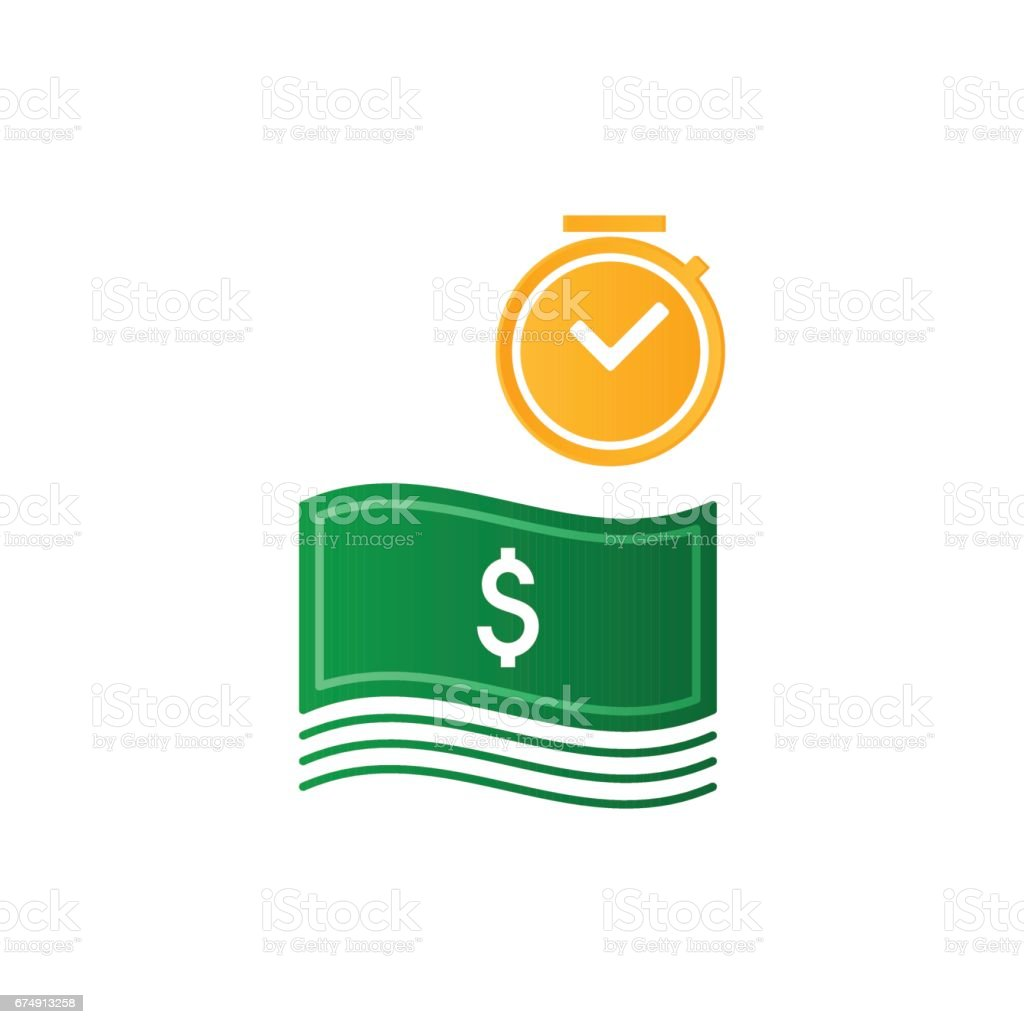 Time is money, finance concept, bank savings account, insurance and pension idea royalty-free time is money finance concept bank savings account insurance and pension idea stock vector art & more images of accountancy
