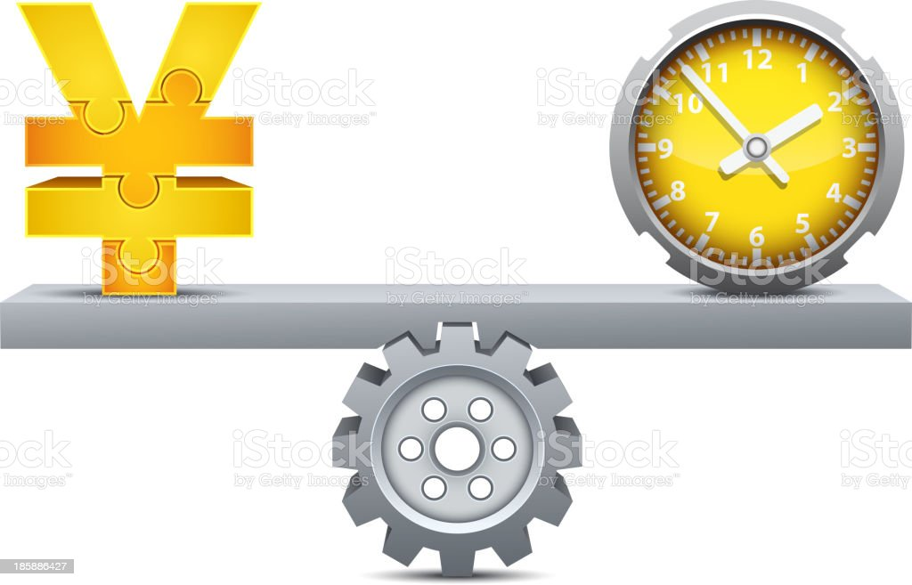 Time is money royalty-free time is money stock vector art & more images of business