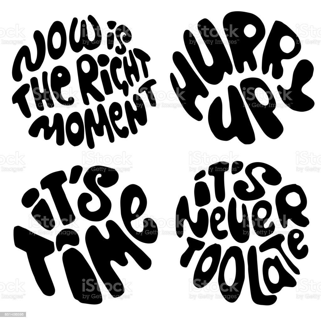 Letras De Tiempo Cotizaciones De Motivación Sobre El Tiempo Y Hacer ...