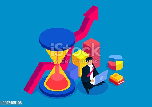 istock Time Management and Business Development Plan 1197455103