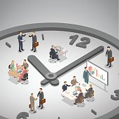Time management business concept.