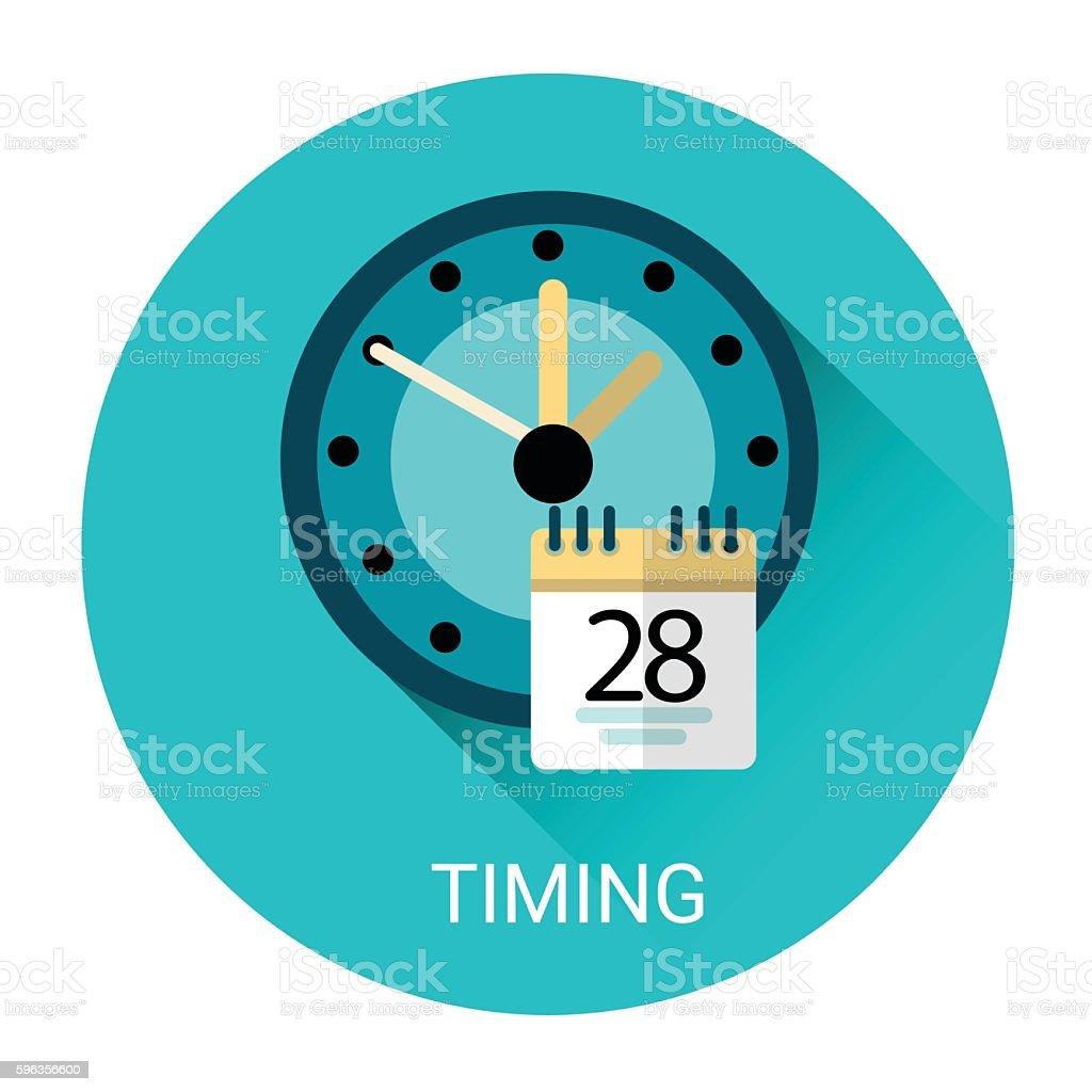 Time Management Business Timing Icon royalty-free time management business timing icon stock vector art & more images of business