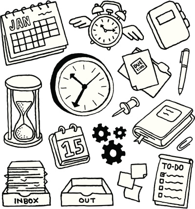 Time Management Doodles