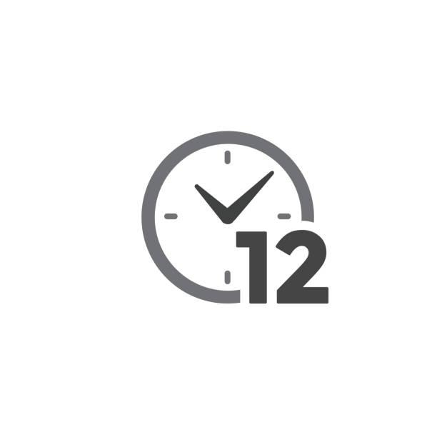 illustrazioni stock, clip art, cartoni animati e icone di tendenza di icona gestione del tempo con deadline, fretta e simbolismo puntuale - quadrante