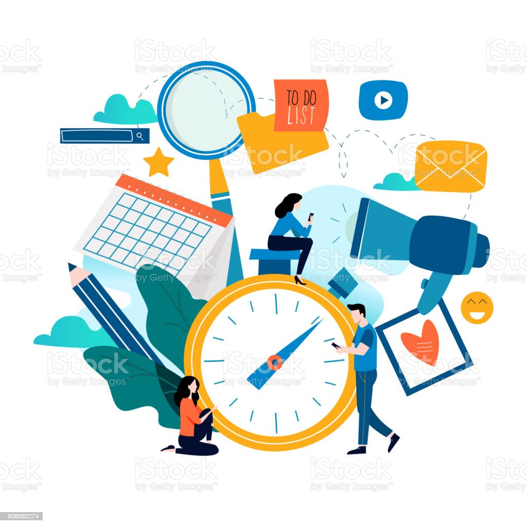 Time Management Planning Events Organization And Optimization ...