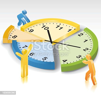 Time Management Stock Vector Art & More Images of ...