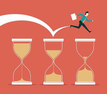 Time pressure - Businessman