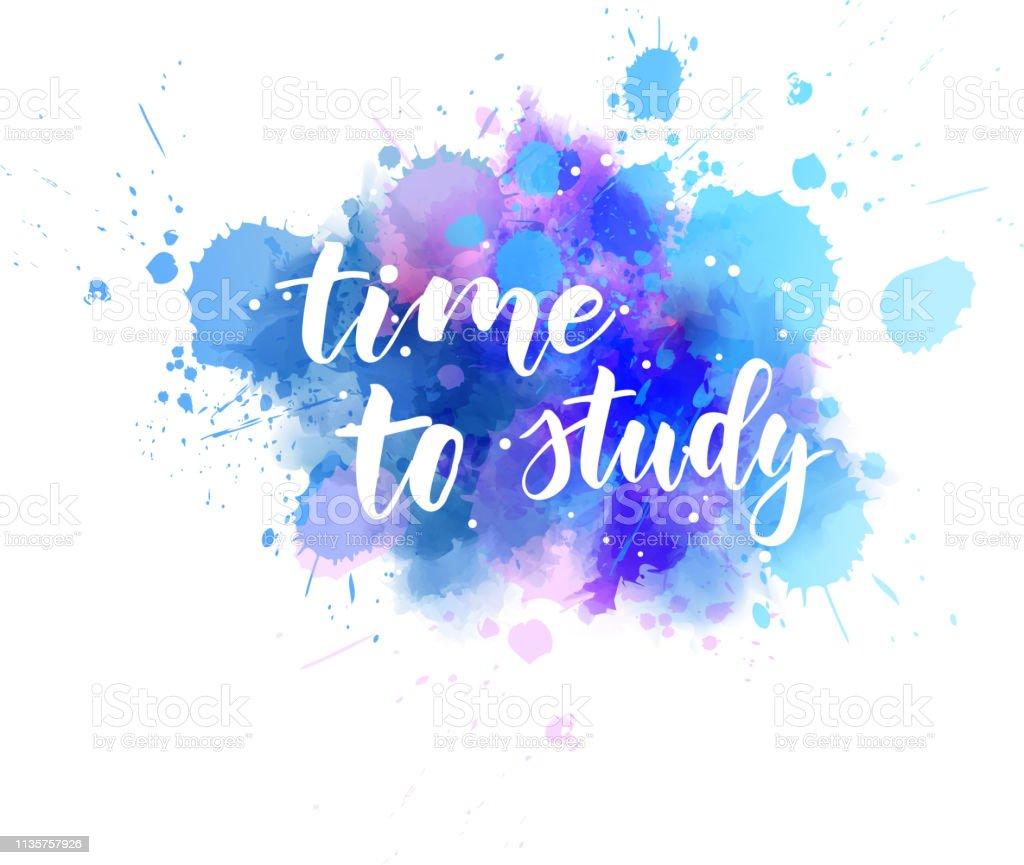 Vetores De Tempo Para Estudarmensagem Motivacional E Mais