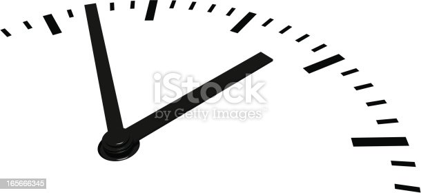 Vector Dial Clock. Archive consist of PDF and Hi-res JPG