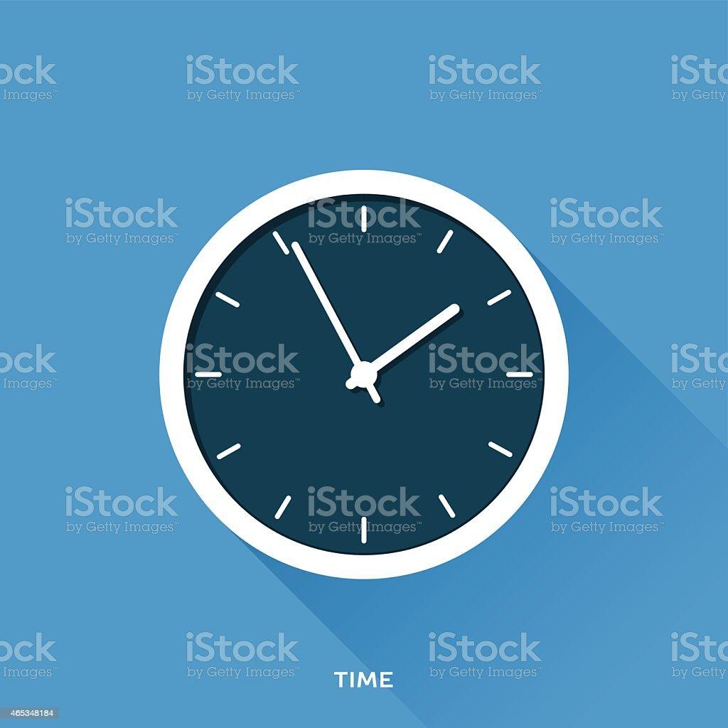 Time vector art illustration