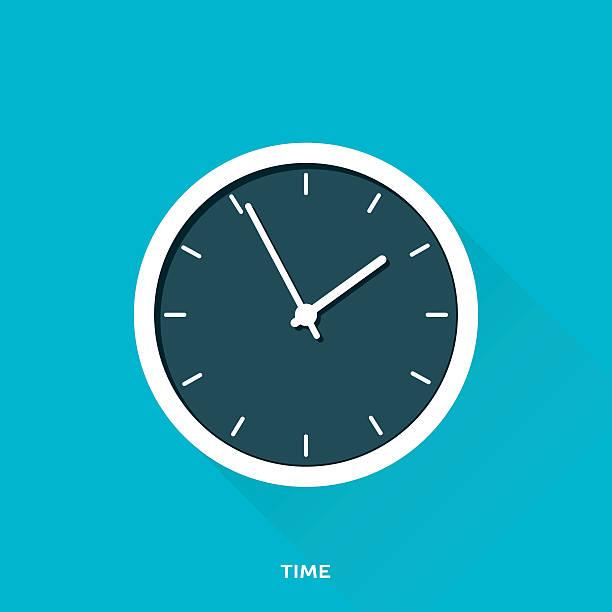 time - clock stock illustrations