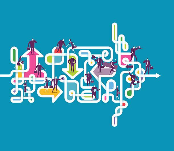 ilustraciones, imágenes clip art, dibujos animados e iconos de stock de el tiempo lo dirá - conceptos de negocios