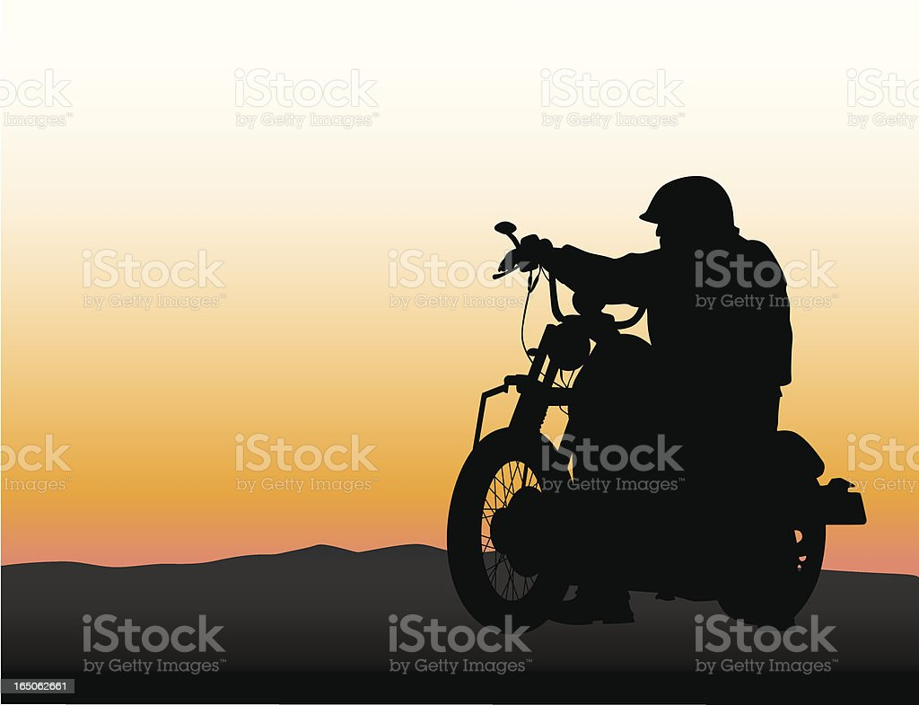 Timeless Vector Silhouette royalty-free stock vector art