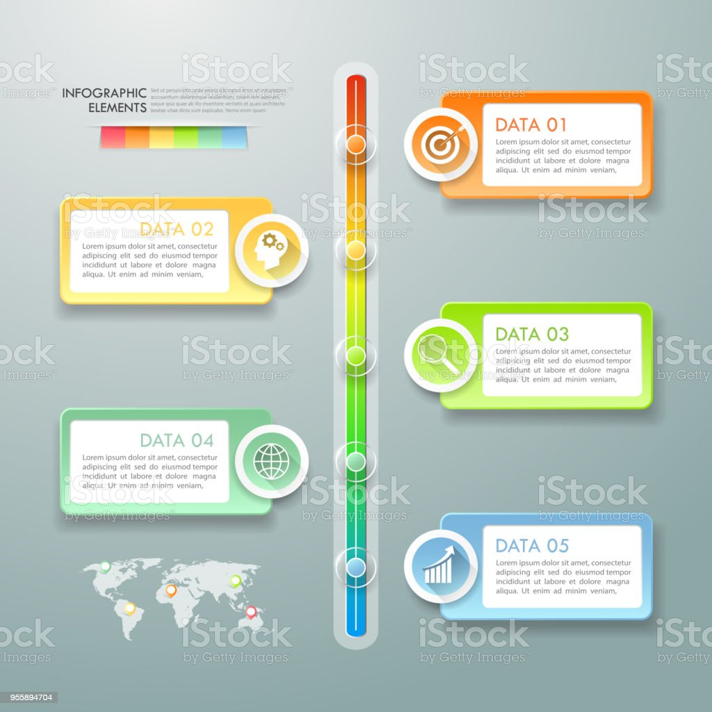Timeline Business Concept Infographic Template Can Be Used For