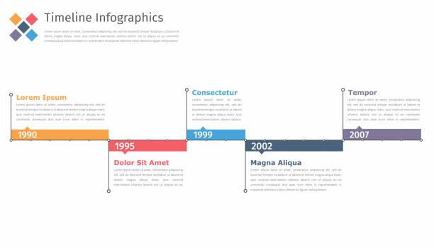 Timeline In - Illustration vectorielle