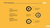Timeline infographic chart slide template. Element of infographics, brochure, diagram. Concept for templates, presentation. Can be used for topics like business, finance, planning