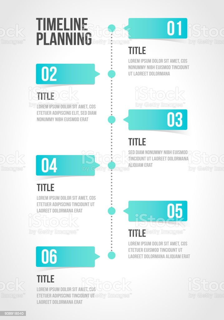 Timeline infographics template, workflow layout, diagram, number step up options in vector illustration. vector art illustration