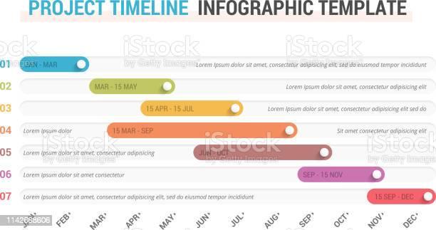Vetores de Infográficos Da Linha Do Tempo e mais imagens de A Data