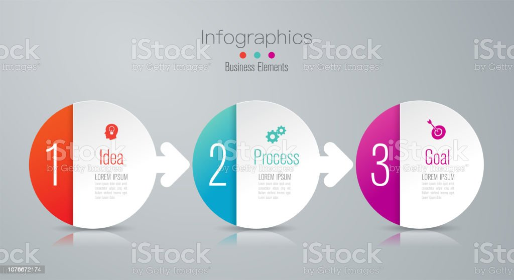 Timeline nfographics design vector and business icons with 3 options. royalty-free timeline nfographics design vector and business icons with 3 options stock illustration - download image now