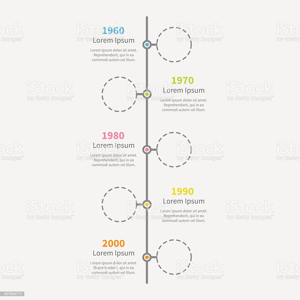 Vertical blank timeline template cloudfrontnet timeline vertical timeline vertical infographic empty circles and text template flat royalty free timeline vertical toneelgroepblik Image collections