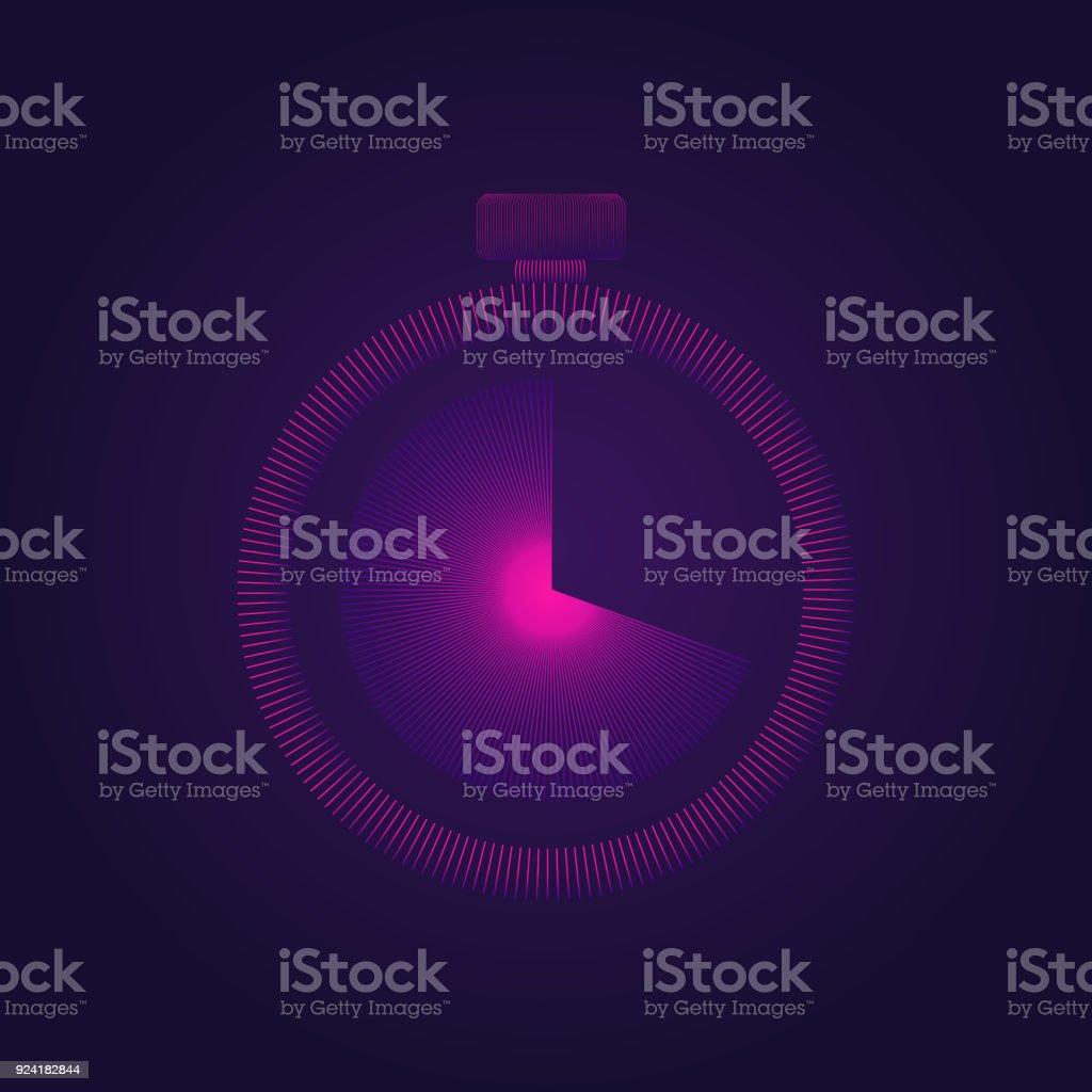 Icône représentant un compteur - Illustration vectorielle