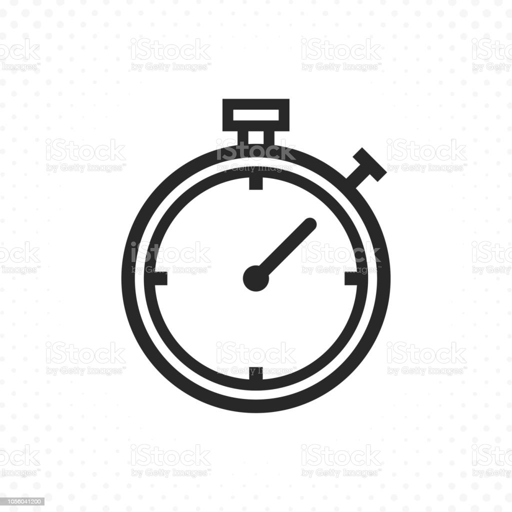 timer line icon stock vector art  u0026 more images of abstract