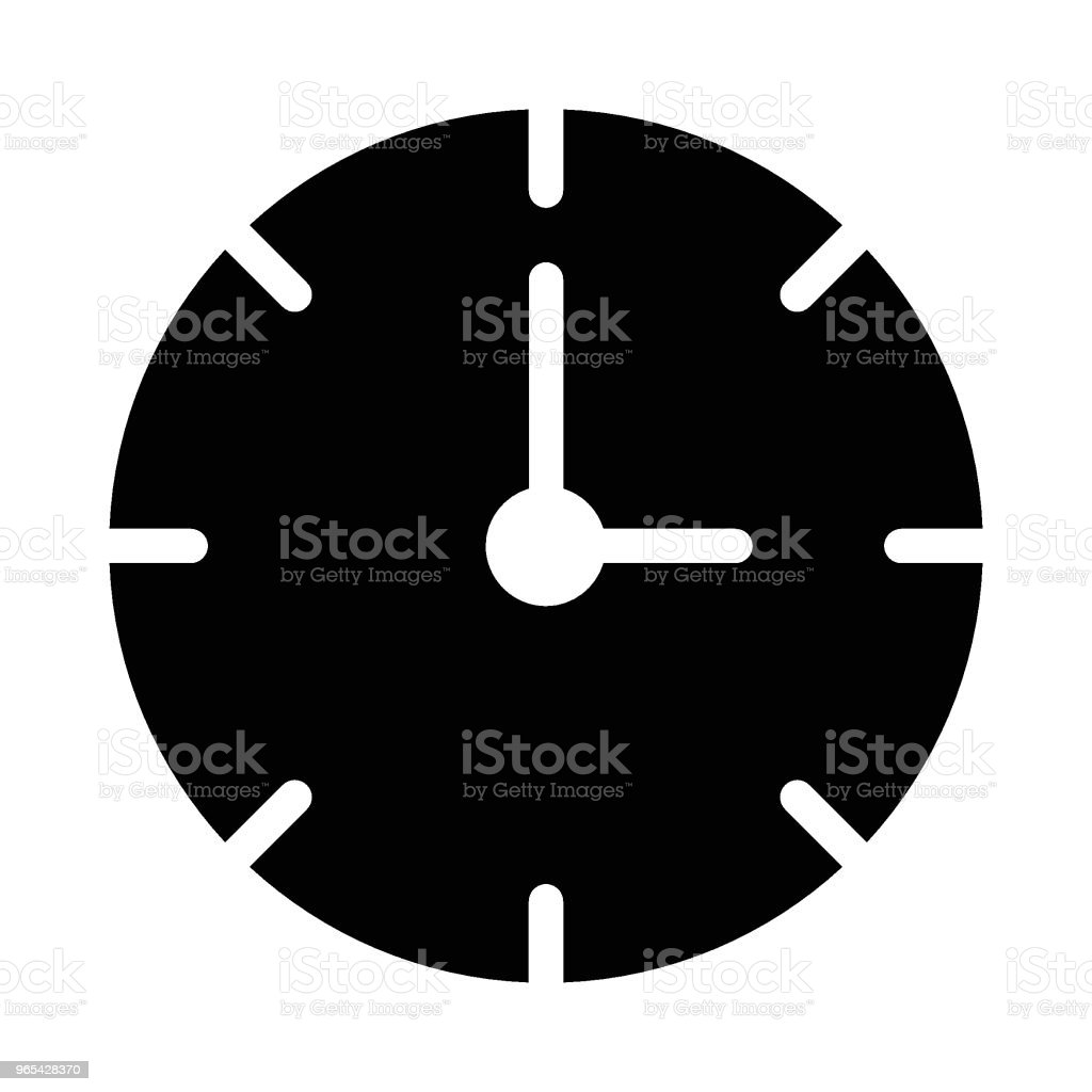 Stoppuhr - - Lizenzfrei Alarm Vektorgrafik