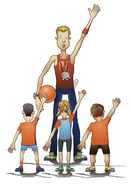 Physical Education Illustrations, Royalty-Free Vector ...