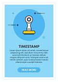 istock Timestamp Concept Banner 967140530