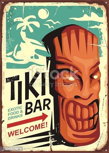 istock Timi bar vintage sign concept 1004523914