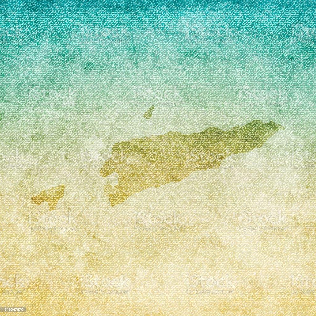Timorleste Map On Grunge Canvas Background Stock Vector Art - East timor seetimor leste map vector