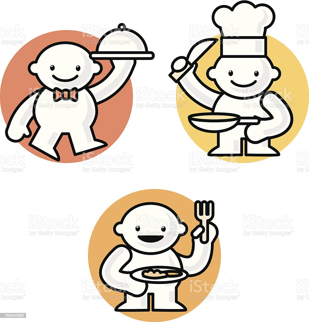 tinies: food royalty-free stock vector art