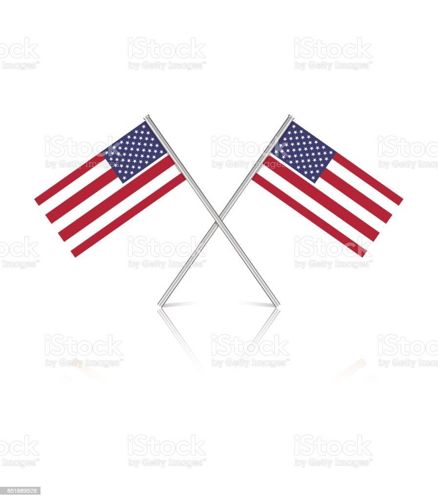 royalty free small american flag clip art vector images rh istockphoto com Patriotic Clip Art small us flag clip art