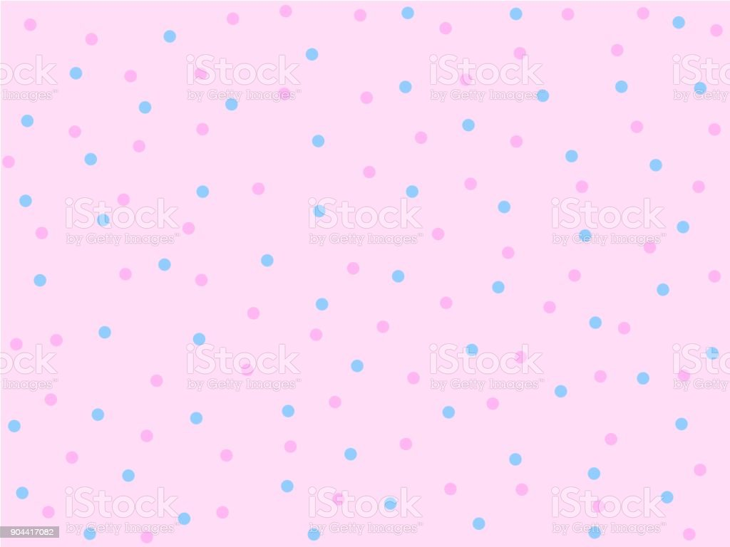 Tiny Pink and blue dot seamless pattern, Pink and Blue dot on light pink background, Not ordered pattern, Sweet style pattern, Cute pattern vector for Gift wrapping paper Tablecloth or drapery Tiny Pink and blue dot seamless pattern, Pink and Blue dot on light pink background, Not ordered pattern, Sweet style pattern, Cute pattern vector for Gift wrapping paper Tablecloth or drapery Abstract stock vector