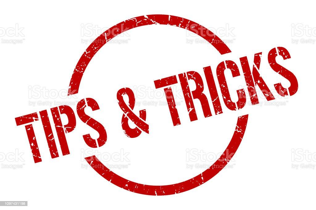 Tips Tricks Stamp - Immagini vettoriali stock e altre immagini di Badge -  iStock
